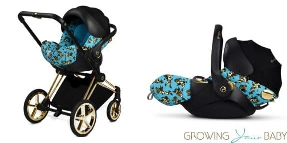cybex by jeremy scott cherub collection - cloud q infant car seat