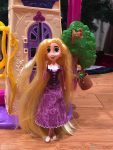 Disney Tangled the Series Swinging Locks Castle - rapunzel