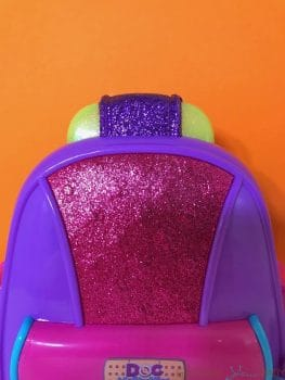 Doc McStuffins First Responders Backpack Set - sparkly backpack