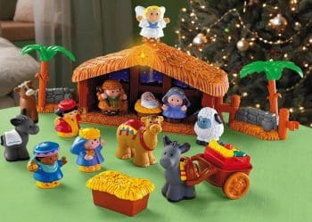 Fisher-Price Little People A Christmas Story KID FRIENDLY NATIVITY SCENE