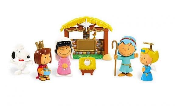 Peanuts Nativity Scene - kid friendly