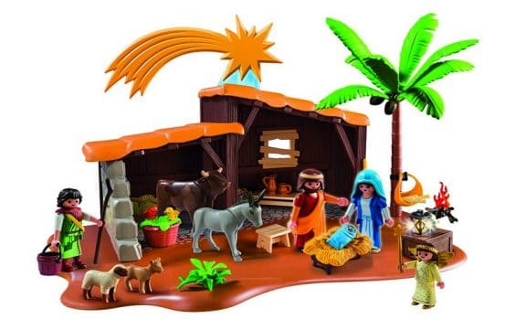 Playmobil Nativity Stable with Manger - Kid Friendly
