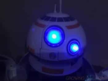 Playskool Heroes Star Wars Galactic Heroes BB-8 Adventure Base - lit up
