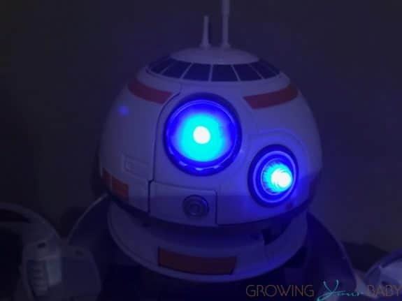 Playskool Heroes Star Wars Galactic Heroes BB-8 Adventure Base - lit up