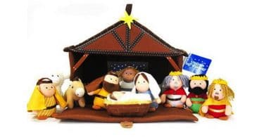 Tales of Glory Plush Nativity Set - kid friendly