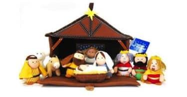 Tales of Glory Plush Nativity Set - kid friendly
