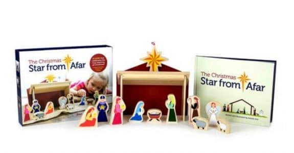 The Star from Afar Nativity Set - KID Friendly nativity set