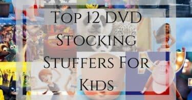 Top 12 DVD Stocking Stuffers For Kids