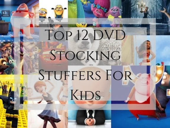 Top 12 DVD Stocking Stuffers For Kids