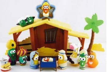 Veggie Tales Nativity Set - kid friendly