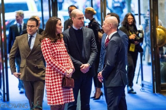 British Royals Prince William and Kate Middleton visit NK department store in Sweden
