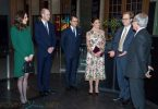 Crown Princess Victoria Prince William, Kate Middleton, Duke and Duchess of Cambridge with Crown Princess Victoria and Prince Daniel visit the Nobel Museum