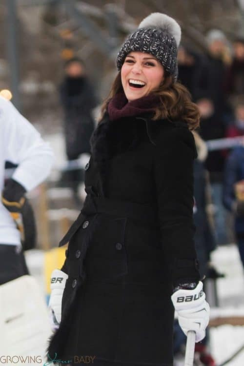 Prince William, Kate Middleton, Duke and Duchess of Cambridge visit Vasaparken for a presentation of bandy
