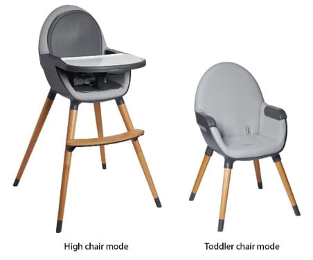 image of recalled Tuo Convertible High Chair