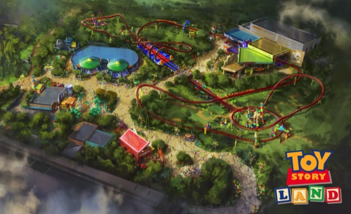 Toy Story Land At Disney S Hollywood Studios Growing