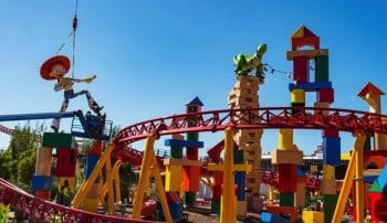 Toy Story Land construction at Disney's Hollywood Studios