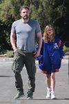 Ben Affleck house hunts with daughter Violet