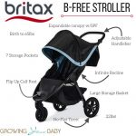 Britax B-Free Stroller Features