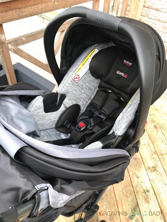 Britax B-Free Stroller review - as a travel system