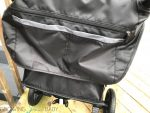 Britax B-Free Stroller review - back of stroller pockets
