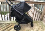 Britax B-Free Stroller review - full canopy