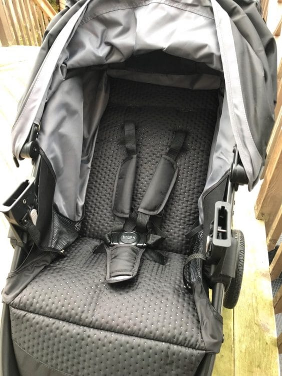 Britax B-Free Stroller review - seat
