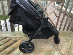 Britax B-Free Stroller review - seat reclined
