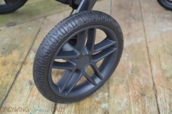 Britax B-Free Stroller review - tires