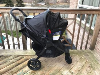Britax B-Free Stroller review - travel system