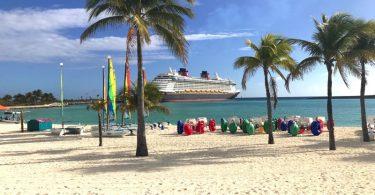 Disney's Private Island Castaway Cay - activities beach