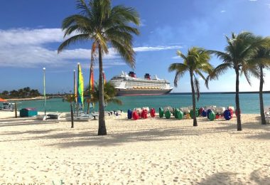 Disney's Private Island Castaway Cay - activities beach