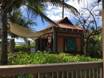 Disney's Private Island Castaway Cay - private Cabana 9