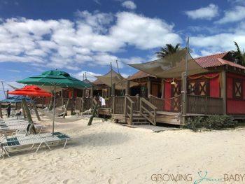 Disney's Private Island Castaway Cay - private cabanas