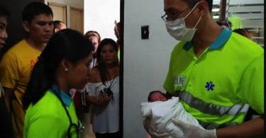 Dog rescues new-born baby girl