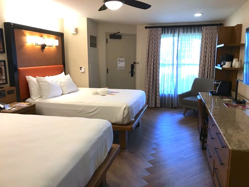 Disney S Coronado Springs Resort Renovated Cabana Room