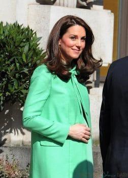 Kate Middleton, Duchess of Cambridge is seen outside of the Royal Society of Medicine