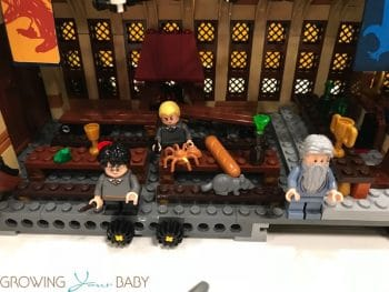 LEGO Harry Potter Hogwarts Great Hall - harry, malfoy and dumbledore