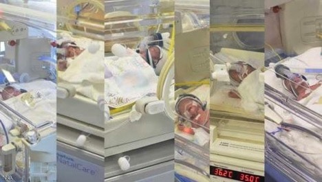 Lebanese woman gives birth to sextuplets
