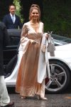Maria Menounos Hotel to attend Khloe Kardashian's star studded baby shower