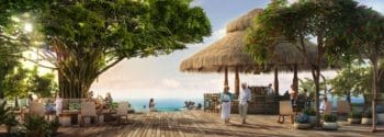 Royal Caribbean's private island exclusive Coco Beach Club