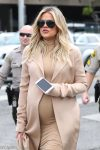 Very pregnant Khloe Kardashian goes shopping in West Hollywood