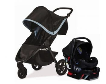 Compact travel system Britax's B-Free stroller