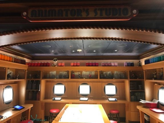 Disney Dream Oceaneer Club - animators studio