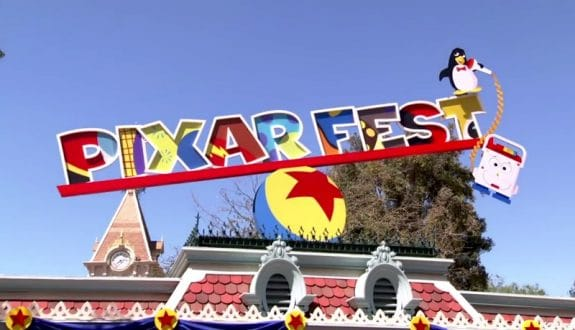 Disneyland Resort Celebrates the First-Ever Pixar Fest!