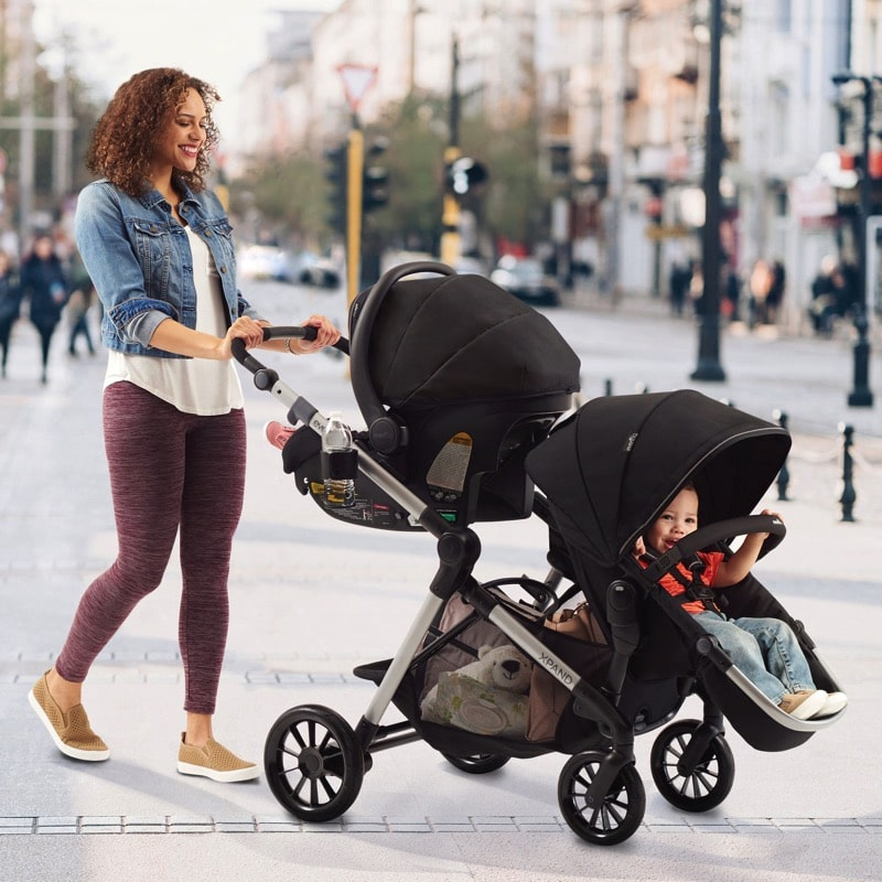 Evenflo Pivot Xpand Travel System Double Growing Your Baby