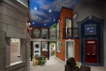 Indoor incredible playhouse city