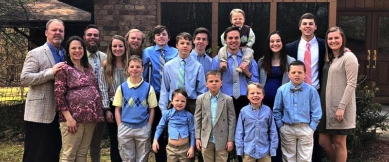 Jay and Kateri Schwandt's 13 boys