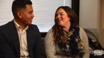 Mario Aguirre and Teri Nobles welcome triplets after twins