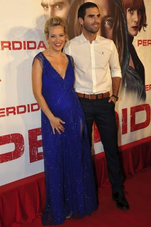"Michael Buble's wife Luisana Lopilato poses for photos at ""Perdida"" premiere"