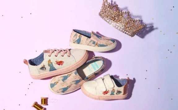 Toms Debuts Magical Disney Princess Collaboration